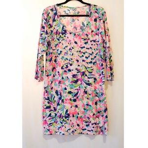 Lilly Pulitzer Floral Cotton Day Dress